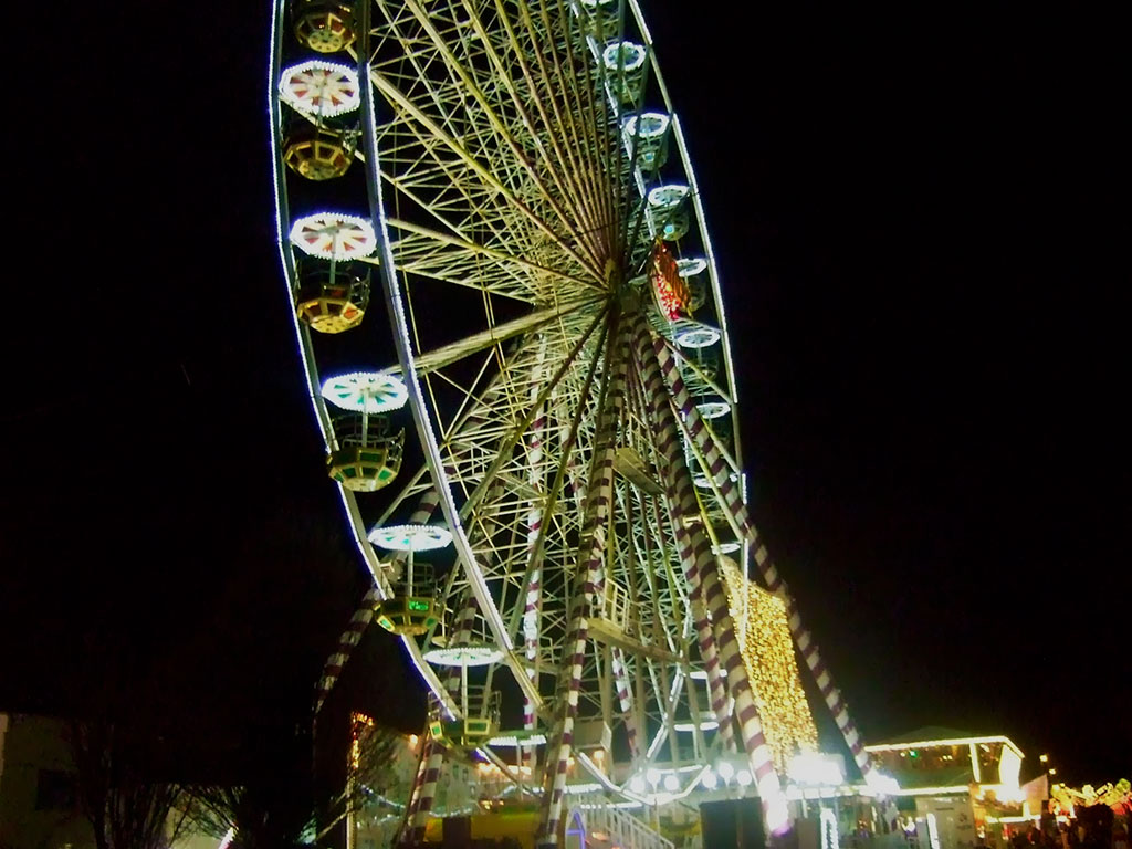 Wheel cirkus Ballsbridge Dublin