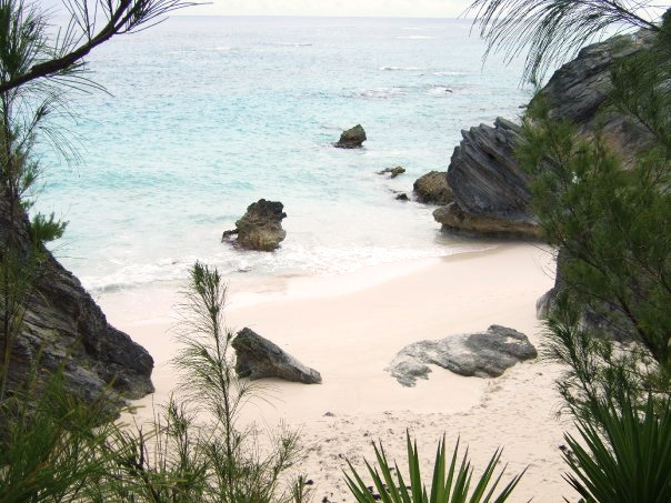 Hidden beach & pink sand - Bermuda