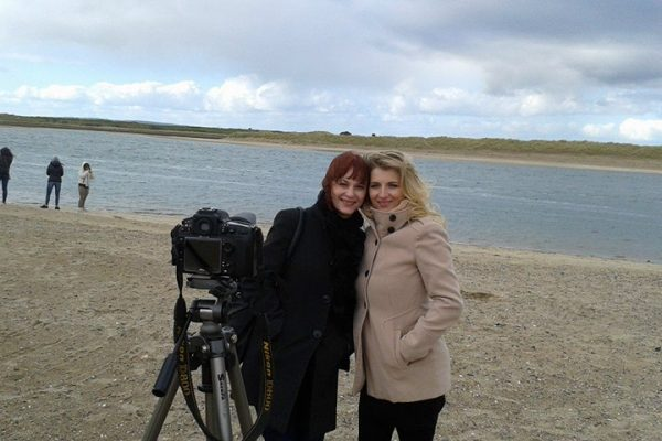 Ana-Marija & Natasa Ban Leskovar interview on the Malahide beach