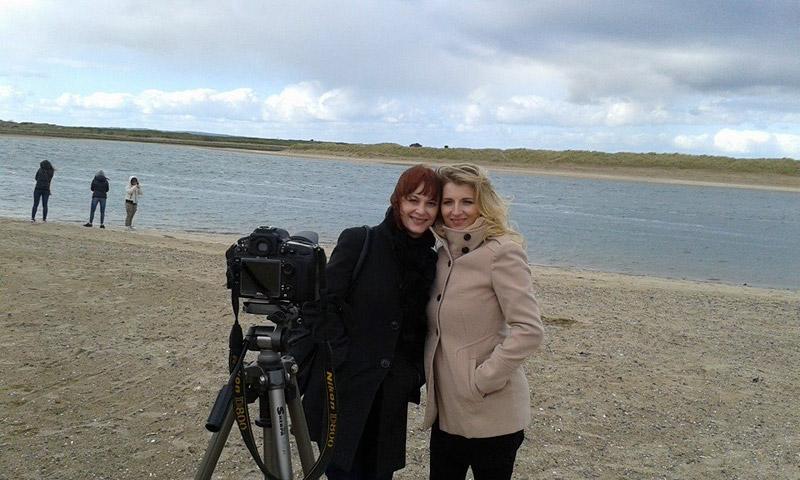 Ana-Marija & Natasa Ban Leskovar interview on the Malahide beach