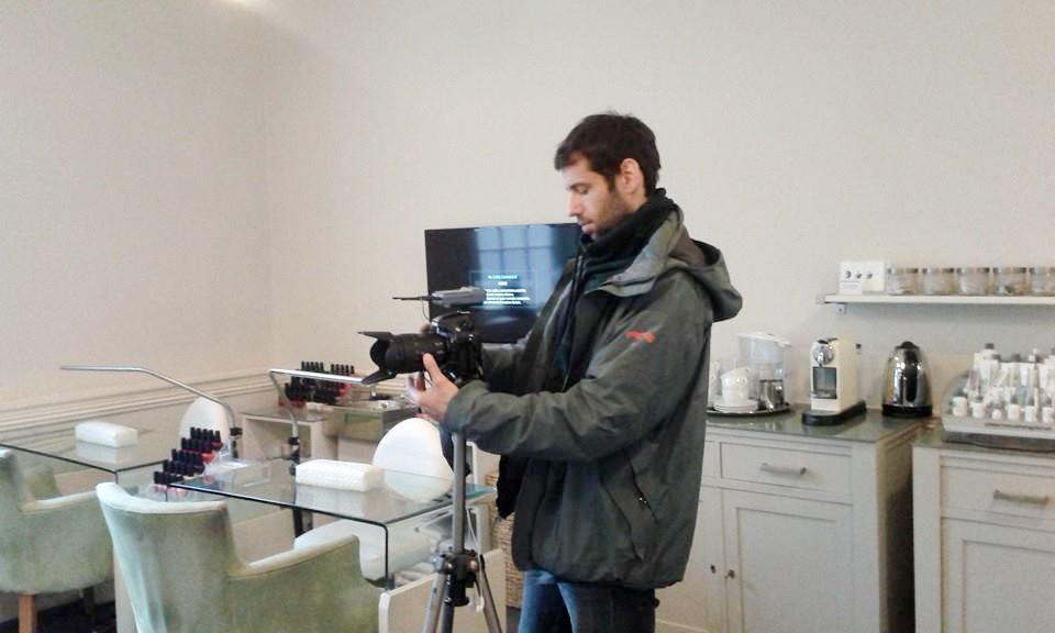 Interview set in The Grooming Rooms - Dublin