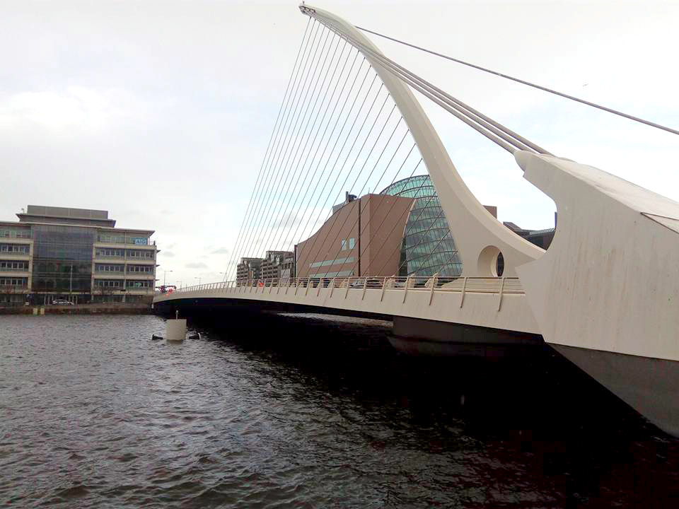 Samuel Beckett Bridge Dublin - Life-in-dublin