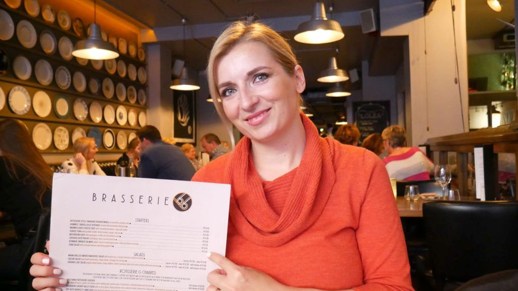 Ana-Maria Hota Blogger at Brasserie66 Life-in-Dublin.com