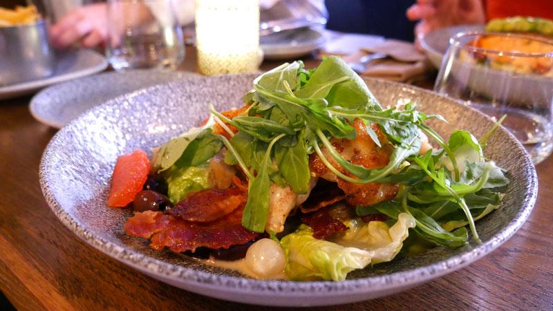Starter Macarel fish salad Brasserie66
